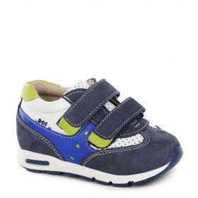 BOS Кроссовки на липучках (синие) BOS