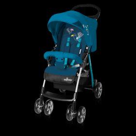 Baby Design Прогулочная коляска Mini 05 (синяя) Baby Design