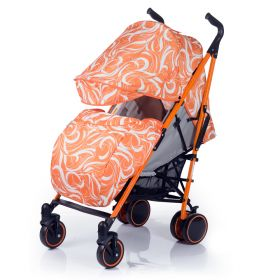 Babyhit Коляска-трость Handy бело-оранжевая Babyhit