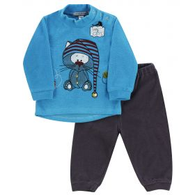 Avanti Piccolo Комплект одежды для малыша кофточка и штанишки (голубой) Avanti Piccolo