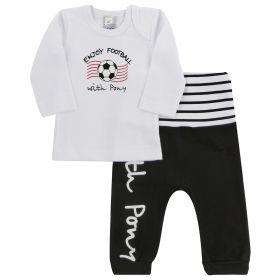 Avanti Piccolo Комплект одежды штанишки и кофточка (черно-белый) Avanti Piccolo