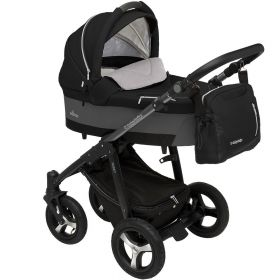 Baby Design Коляска 2 в 1 Husky 2017 10 Black Baby Design
