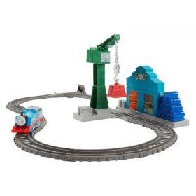 Mattel Железная дорога Thomas and Friends Крушение в доках Mattel