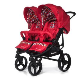Baby Care Коляска для двойни Cruze Duo Red Baby Care