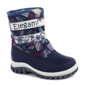 Elegami Сапоги зимние (синие) Elegami