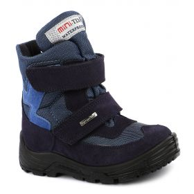 Minimen Ботинки для мальчика Sympatex (синие) Minimen