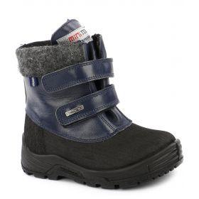 Minimen Ботинки зимние (синие) Minimen