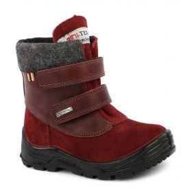 Minimen Ботинки утепленные (бордовые) Minimen