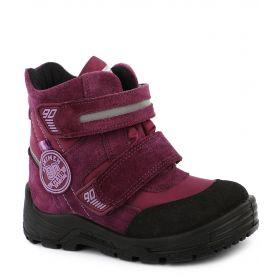 Minimen Ботинки на липучках утепленные Sympatex (фиолетовые) Minimen