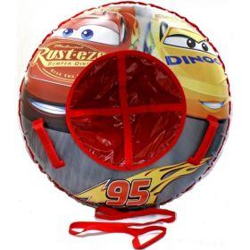 1Toy Тюбинг-ватрушка Disney Тачки 100 см 1Toy