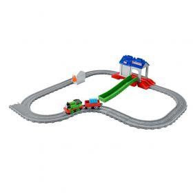 Mattel Игрушечная железная дорога Thomas&Friends Перси в спасательном центре Mattel