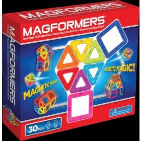 Magformers Магнитный конструктор Rainbow 30 Magformers