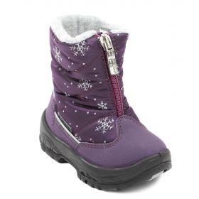 Alaska Originale, Сапоги зимние для девочки (фиолетовый базилеа) Alaska Originale