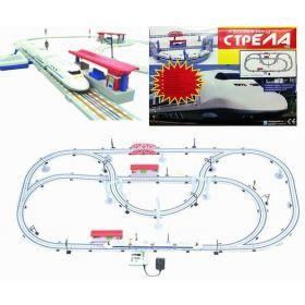 Racing PRO Железная дорога Скоростной поезд Сапсан 6,8 м Racing PRO