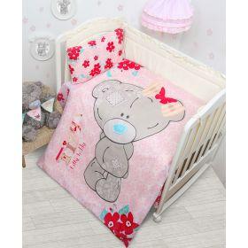 MONA LIZA Комплект в кроватку 3 предмета Teddy baby для девочки MONA LIZA