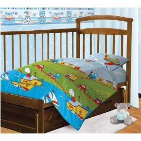 Непоседа, Комплект постельного белья в кроватку