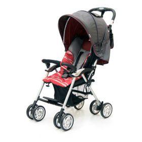 Jetem Прогулочная коляска Elegant (Dark Grey/Red, полоска) Jetem