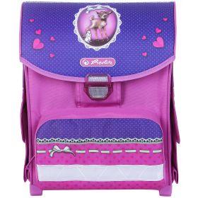 Herlitz Ранец Smart Ex для девочки Happy (розовый/фиолетовый) Herlitz