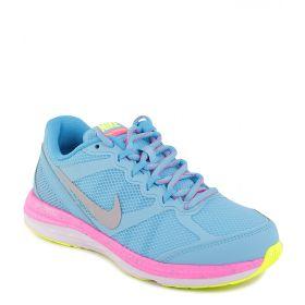 Nike, Кроссовки DUAL FUSION RUN 3 для девочки (голубые) Nike