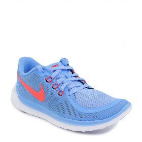 Nike, Кроссовки FREE 5.0  для девочки (голубые) Nike