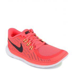Nike, Кроссовки FREE 5.0 для девочки (красные) Nike