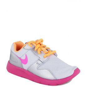 Nike, Кроссовки Kaishi (PS) для девочки (серебристо-розовые) Nike