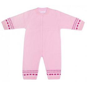 Уси-Пуси Комбинезон для малыша Кроха (розовый) Уси-Пуси
