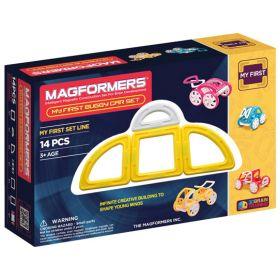 Magformers Магнитный конструктор My First Buggy желтый Magformers