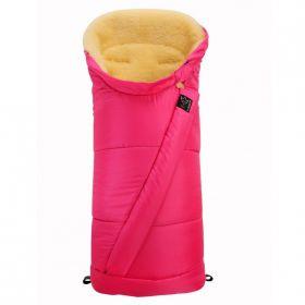 Kaiser, Конверт зимний меховой COOSY (розовый) Kaiser