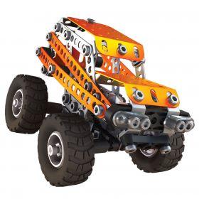 Meccano, Металлический конструктор 2 в 1 - Внедорожник и грузовик Meccano