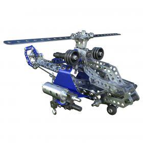Meccano Конструктор 2-в-1 Боевой вертолёт и планер Meccano