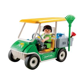 Playmobil Конструктор Каникулы: Машинка для обслуживания кемпинга Playmobil