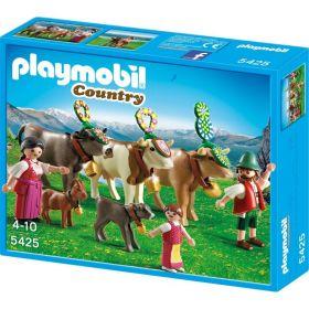Playmobil Конструктор В горах: Альпийский фестиваль Playmobil