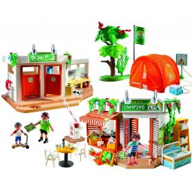 Playmobil Конструктор Каникулы: Большой кемпинг Playmobil