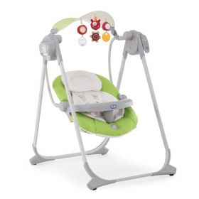 Chicco, Качели POLLY Swing Up (Green) Chicco