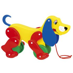 Полесье Игрушка-каталка собака