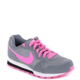 Nike, Кроссовки MD Runner 2 для девочки (серые) Nike