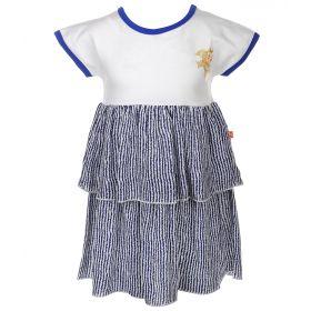 Goldy, Платье для девочки (бело-синее) Goldy