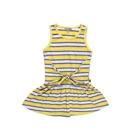 Sweet Berry, Платье для девочки (бело-желтое в полоску) Sweet Berry