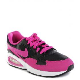 Nike, Кроссовки Air Max ST для девочки (черный/розовый) Nike