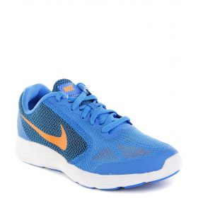 Nike, Кроссовки Revolution 3 (GS) для мальчика (синие) Nike