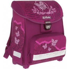 Herlitz Ортопедический школьный рюкзак SMART без наполнения Rose butterfly Herlitz