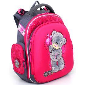 Hummingbird Ранец школьный 12ТК для девочки с мешком для обуви Teddy (розовый) Hummingbird