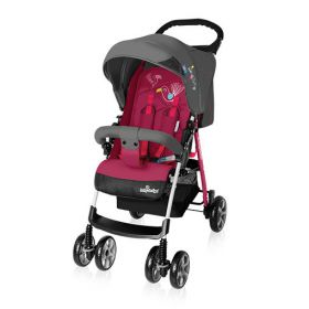 Baby Design Прогулочная коляска MINI NEW 08 (розовая) Baby Design