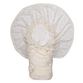 Сонный гномик, Конверт-одеяло на выписку Малютка (бежевый) Сонный гномик
