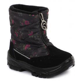 Alaska Originale, Сапоги зимние (черный/цветы) Alaska Originale