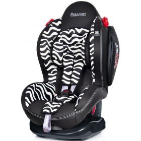 Welldon Автокресло Smart Sport Side Armor & CuddleMe Zebra Welldon