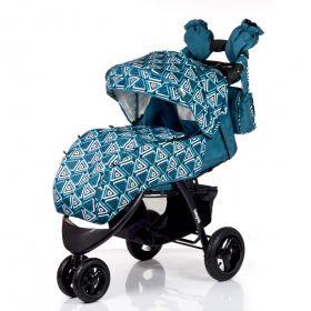 Babyhit Прогулочная коляска Voyage Air (синяя) Babyhit