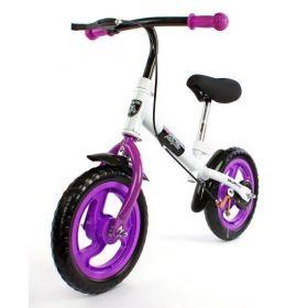Moby Kids Беговел с ручным тормозом фиолетовый Moby Kids