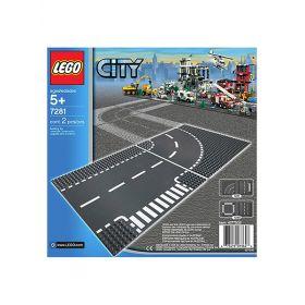 Игрушка Город Т-образная развязка,номер модели 7281 City LEGO